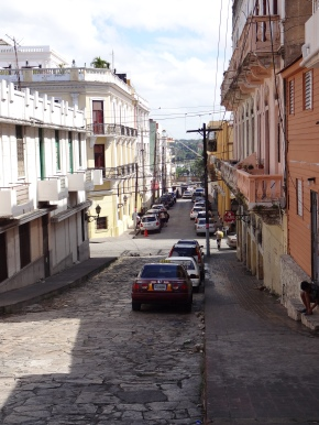 A street in the zona colonial